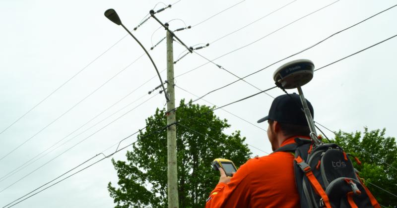 TDS-Services-Relevés-Telecom-Lampadaire